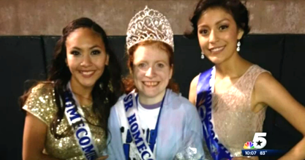 Homecoming Queen Gives Her Bullied Friend The Honor Of A Lifetime